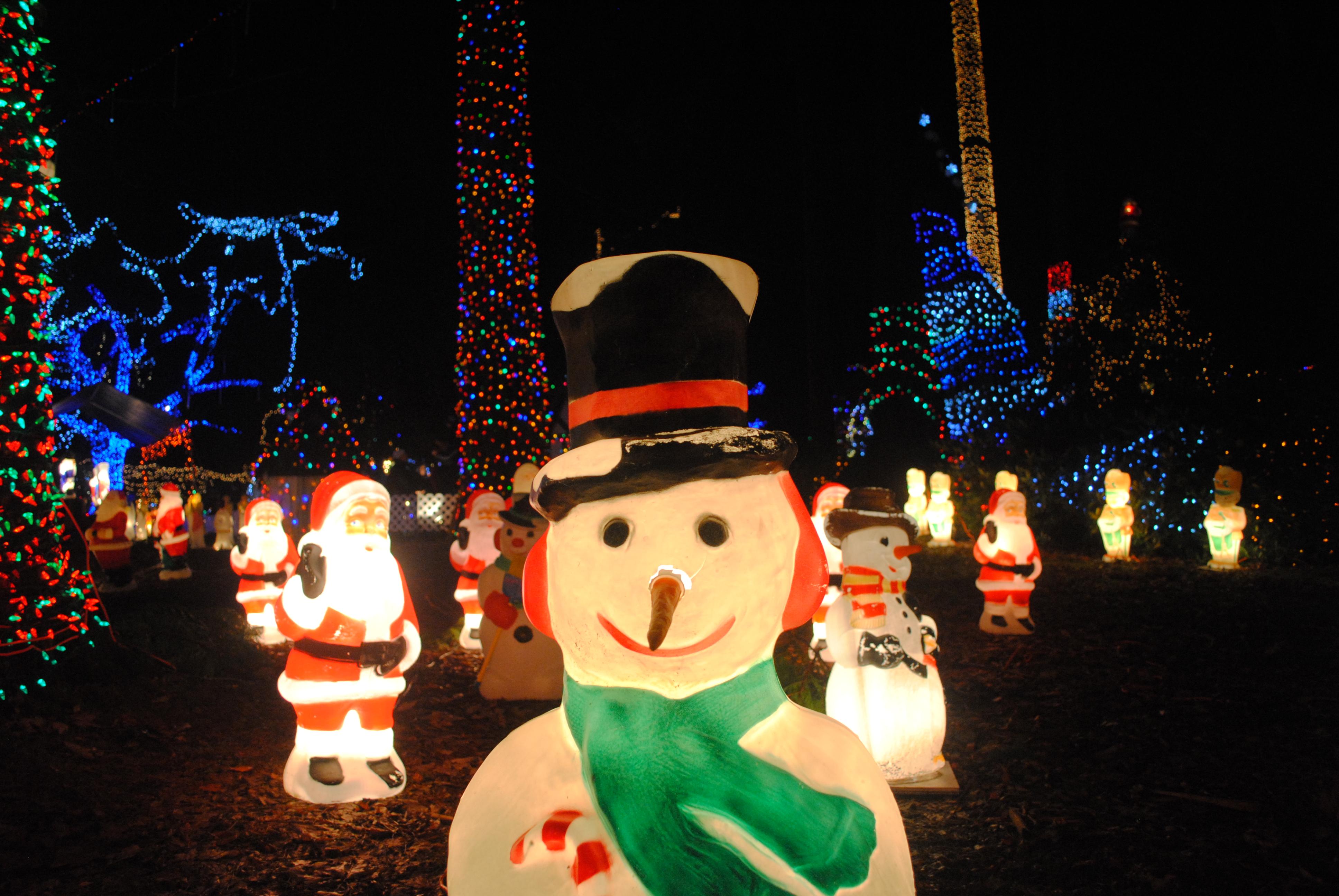 {溫哥華聖誕燈飾} Bright Nights in Stanley Park