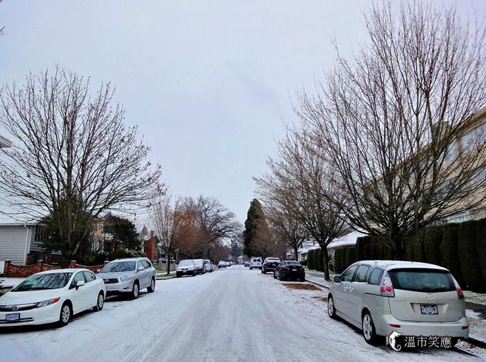 {溫哥華旅遊} 初雪天的紅白大對抗