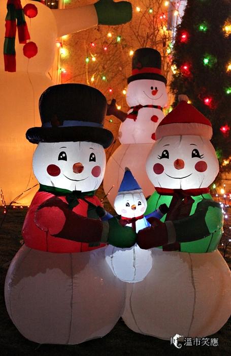 {溫哥華聖誕燈飾} 三一街的平民聖誕味
