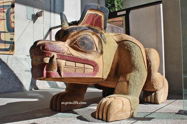 溫哥華旅遊 來溫哥華人類學博物館和原住民祖靈相會吧