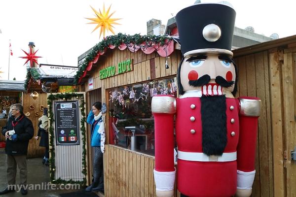 {溫哥華遊記} 濃濃巴伐利亞風味,溫哥華的歡樂聖誕市集