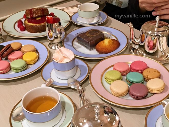 溫哥華美食|新開張!搶先體驗法國Laduree沙龍茶室