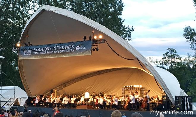 {溫哥華好文青} 徜徉湖邊萬人音樂會 Symphony in the Park