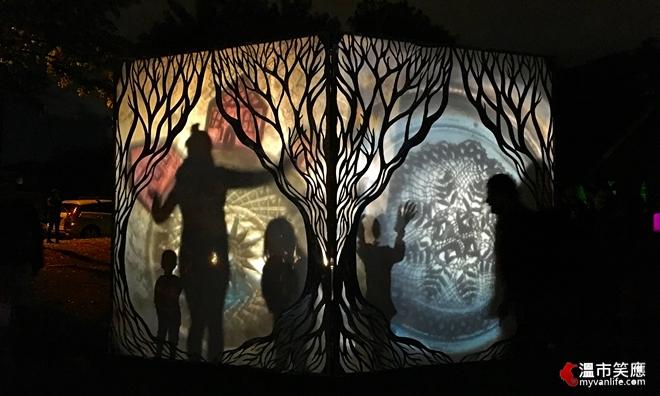 溫哥華節慶 在森林裡的月光節,聆聽古老的詩歌