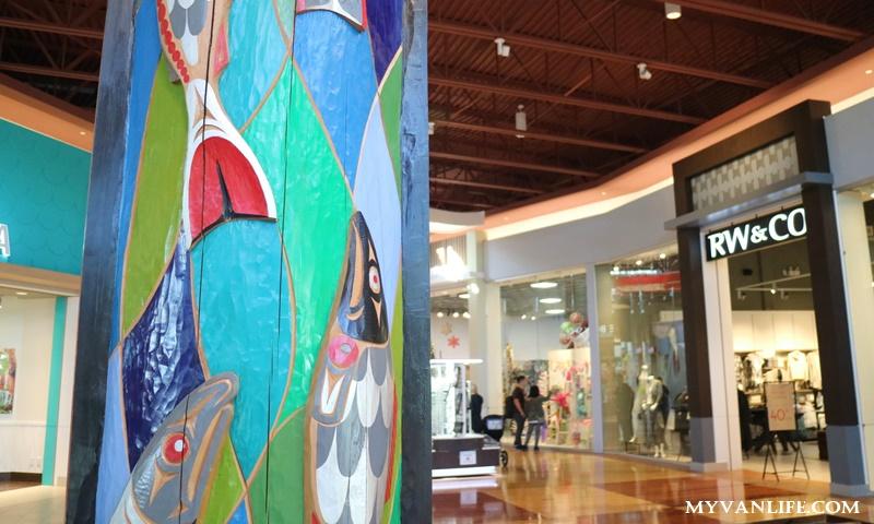 {溫哥華旅遊} 在曠野中血拚,走訪溫哥華原住民風格購物中心