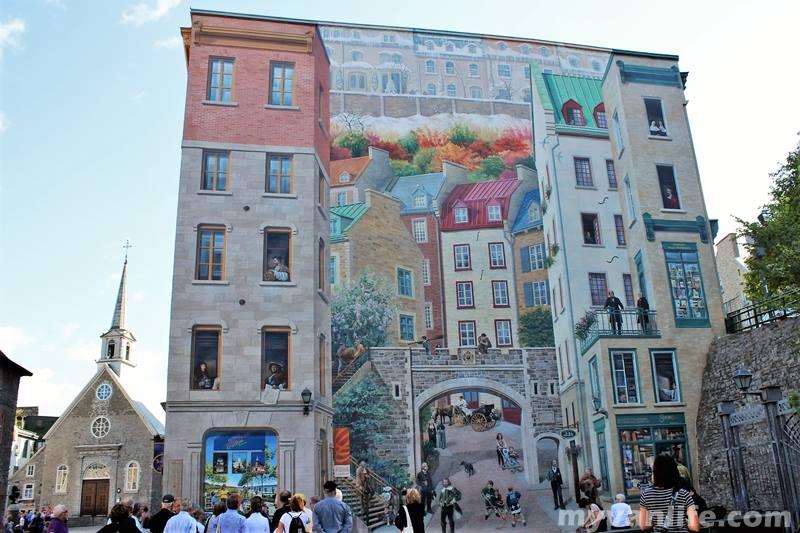 魁北克旅遊|鬼怪教我們的事:藝術價值非凡的街頭追逐