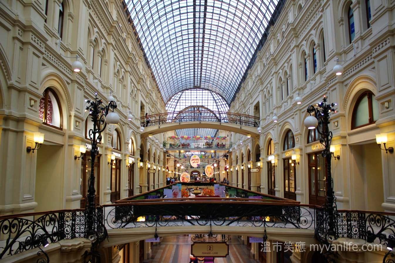 西伯利亞壯遊記 之五 莫斯科之城內城外買一回