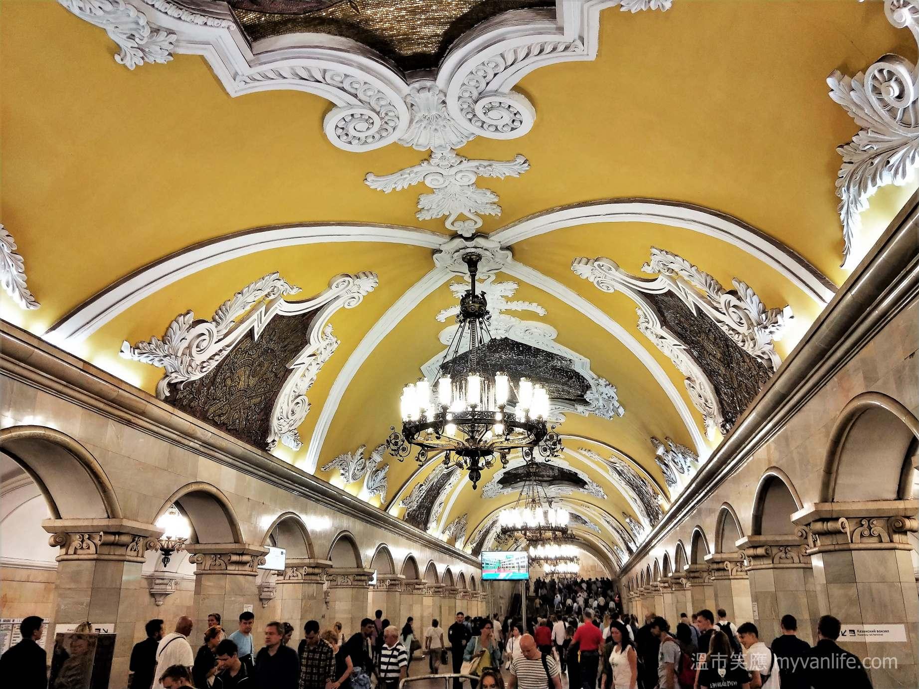 西伯利亞壯遊記 之二 奔馳在地底100公尺的藝術殿堂